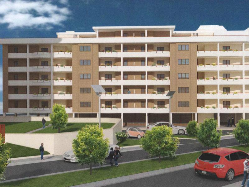 Edifici residenziali in pomezia gruppo mezzaroma for Piani di costruzione di edifici residenziali in metallo